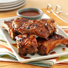 saucy grilled baby back ribs recipe taste of home