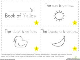 the color yellow preschool colors letter worksheets and color