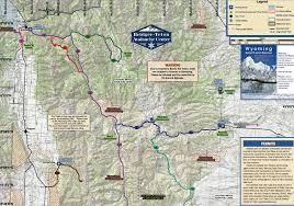 Jackson Hole Wyoming Map Alpine Wy U0026 Star Valley Maps