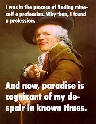 Joseph Ducreux Meme - image 109485 joseph ducreux archaic rap know your meme