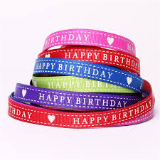 birthday ribbon birthday ribbons