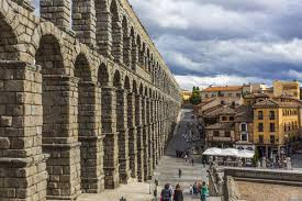 50 most beautiful pictures of the aqueduct of segovia in spain