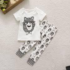 2pcs baby boy infant t shirt set clothes 3 6 9