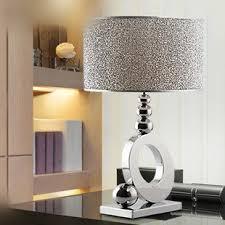 stylish minimalist luxury crystal table lamp bedroom bedside lamp