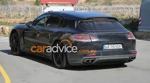 porsche panamera interior 2016 2017 porsche panamera wagon and interior spied photos 1 of 11