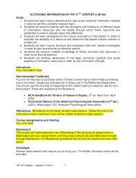 lib100 syllabus template