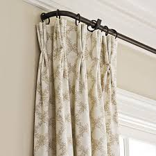 Return Rod Curtains A Returning Iron Curtain Rod Would Be To Run Around The