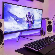 Gaming Desk Setup Ideas 880 Best Pc Setup Images On Pinterest Pc Setup Gaming Setup And