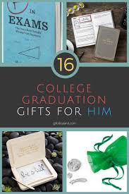 college graduate gift ideas 16 amazing college graduation gift ideas for him