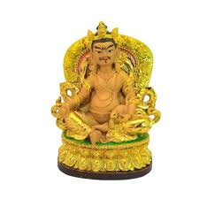 feng shui tibetan wealth god yellow jambhala lazada malaysia