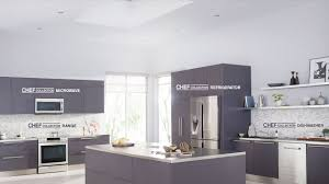 Complete Kitchen Cabinet Packages Kitchen Appliances Stainless Steel Framed Glass Door Pantry