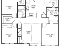 3 bedroom house floor plans plans of houses endearing spelndid 3 bedroom house floor plan