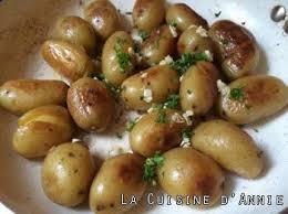 cuisiner pomme de terre recette petites pommes de terre sautées à l ail et au persil la
