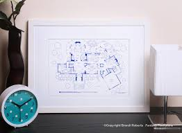 tony soprano house floor plan sopranos house plan poster tv show floor plan blueprint for home