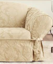 Sure Fit 3 Piece Sofa Slipcover by Sure Fit Matelasse Damask 1 Piece Sofa Slipcover Slipcovers