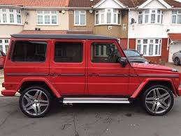 mercedes benz g class 7 seater mercedes 280ge g wagon 1982 red automatic facelifted 2015 amg