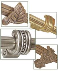Curtain Rod Brackets Curtain Rod Hardware Accessories Interiordecorating