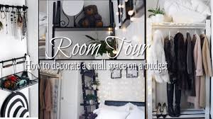 pinterest bedroom room tour how to style a small bedroom youtube
