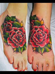 download rose tattoo on foot danielhuscroft com