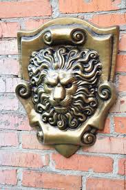Home Interior Lion Picture Buy Lion Concrete Bas Relief No 4 On The Cartouche Beige On