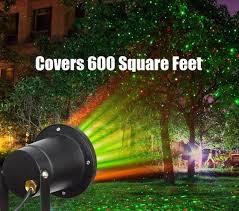 remote laser lights projector solar motion