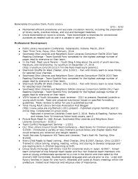 Resume Sample Librarian by Public Works Resume Sample Free Resume Example And Writing Download