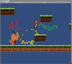 unity tutorial enemy ai 2d sidescroller enemy ai jump help picture included unity answers
