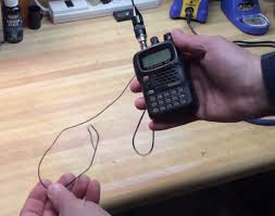 improve your ht ham radio by adding a counterpoise antenna wire