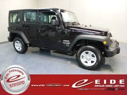 grey jeep wrangler 4 door jeep wrangler jk unlimited sport for sale in bismarck nd