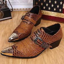 wedding shoes mens new style printed patent leather flats dress wedding shoes men