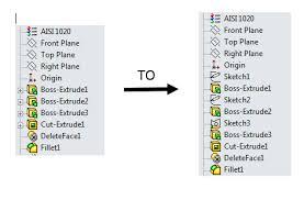 solidworks hidden commands