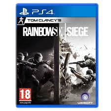 siege console de jeux rainbow six siege ps4 jeux ps4 ubisoft sur ldlc com