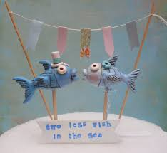 fish cake toppers fish wedding cake topper best images about beachy cake