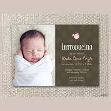 baby announcement card birth announcements cards free birth
