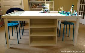 Diy Craft Desk With Storage by Lego Table With Storage In Middle Protipturbo Table Decoration