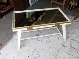 Mirrored Top Coffee Table Is A Mirror Top Coffee Table A Yes Or No Petticoat Junktion