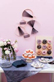 black and pink baby shower tell love and party