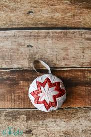 quilt ornament tutorial and handmade ornament