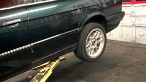 1992 bmw 525i auto to manual conversion first test youtube