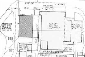 facility kent meridian auxiliary gym site plan