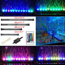 color changing led fish tank lights rgb remote color changing led fish tank light lighting air curtain