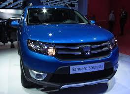 dacia sandero britain s cheapest car to go on sale for 6 000