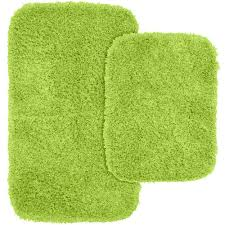 Home Depot Rugs Sale Garland Rug Jazz Lime Green 21 In X 34 In Washable Bathroom 2