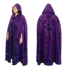 ritual robes and cloaks purple goddess ritual robe or cloak pagan portal