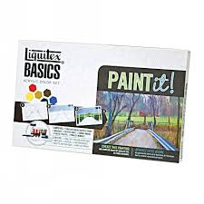 basics acrylic paint paint it kit liquitex com