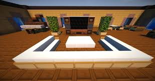minecraft vanilla livingroom furniture map 01