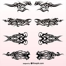 tribal tattoos collection vector free download