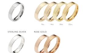 wedding ring metals wedding rings wedding ring metals noticeable difference between