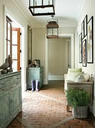 how to decorate a foyer in a home fabulous distressed antique dresser and wooden chaise chairs added