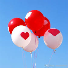 balloons inside balloons delivered hot sale 12 inch wedding decoration free balloon
